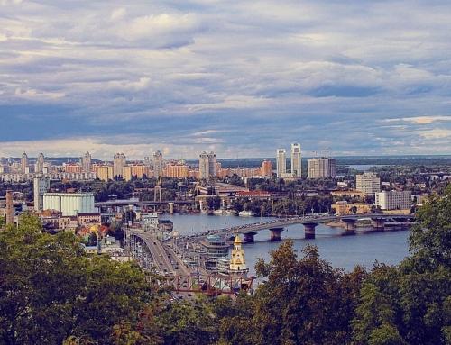 Blick auf die Ukraine