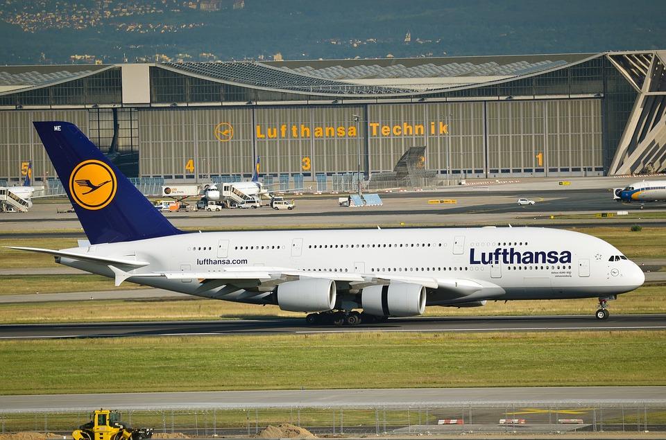 Lufthansa in Turbulenzen